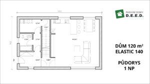 rozšíření domu 1NP