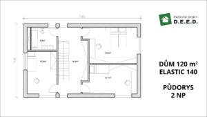 rozšíření domu 2NP
