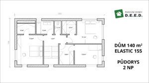 2 NP rozšíření domu 140 > 155